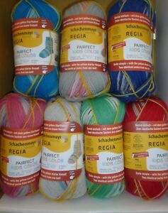 Arne-amp-Carlos-Pairfect-Kids-Colour-4-Ply-Regia-Sock-yarn-x-60g-Choose-Colour