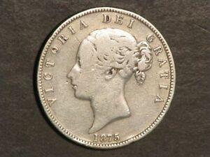 GREAT-BRITAIN-1875-1-2-Crown-Victoria-Silver