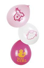 Baby Girl Party Ballons 6 St. NEU - Partyartikel Dekoration Karneval Fasching