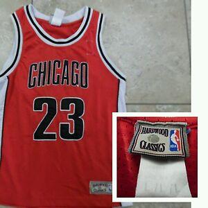 7f32abe10 VTG Hardwood Classics 23 Michael Jordan Chicago Bulls NBA Sleeveless ...