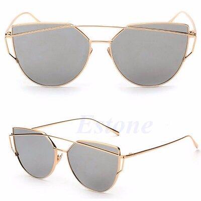 Fashion Women Girl Retro Vintage Classic Cat Eye Shades Frame Sunglasses Eyewear