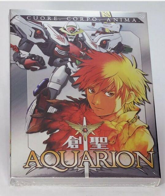 AQUARION VOLUME 1  LA SAGA HA INIZIO DVD anime giapponesi nuovo sigillato