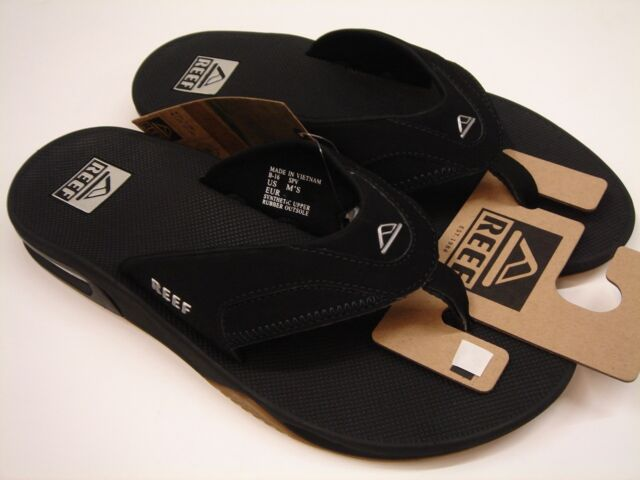 f7e6298a521 Reef Fanning Sandals Rf002415 Murdered Mens US Size 7 UK 6