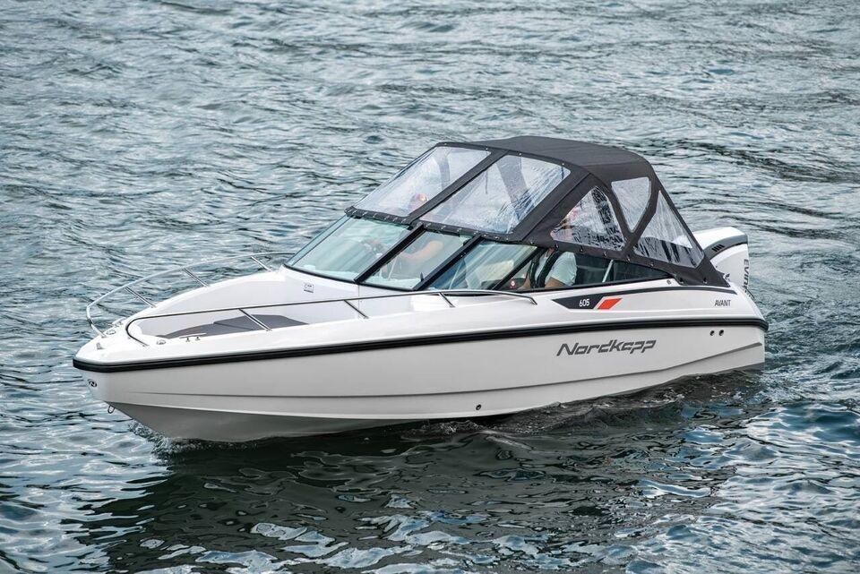 Nordkapp Avant 605 - 100 HK Yamaha/Udstyr, Motorbåd, årg.