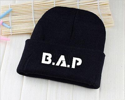 BAP BTS VIXX Winner GD Cap Knit Beanie Hat Kpop Adjustable Snapback Fitted