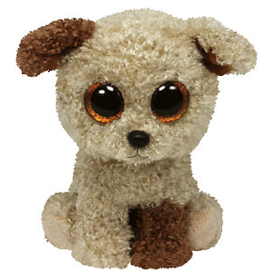 11aeae92573 Ty Beanie Boos Rootbeer Terrier Plush for sale online