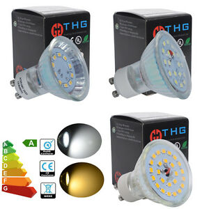 4-8-10x-7W-5W-3W-GU10-MR16-LED-Bulbs-SMD-Lamps-35W-50W-60W-Halogen-Replacement