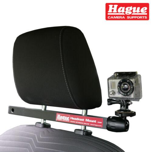 Chm Cámara de video de la Haya coche reposacabezas de montaje adecuado para Gopro videocámaras y más