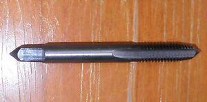 Tungsten steel hand tap M5x0.8, 5mm,  Intermediate. RH. New