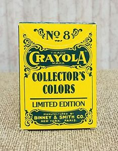 No MINT! Vintage 1991 8 BINNEY /& SMITH Limited Edition Crayola Collector/'s Colors