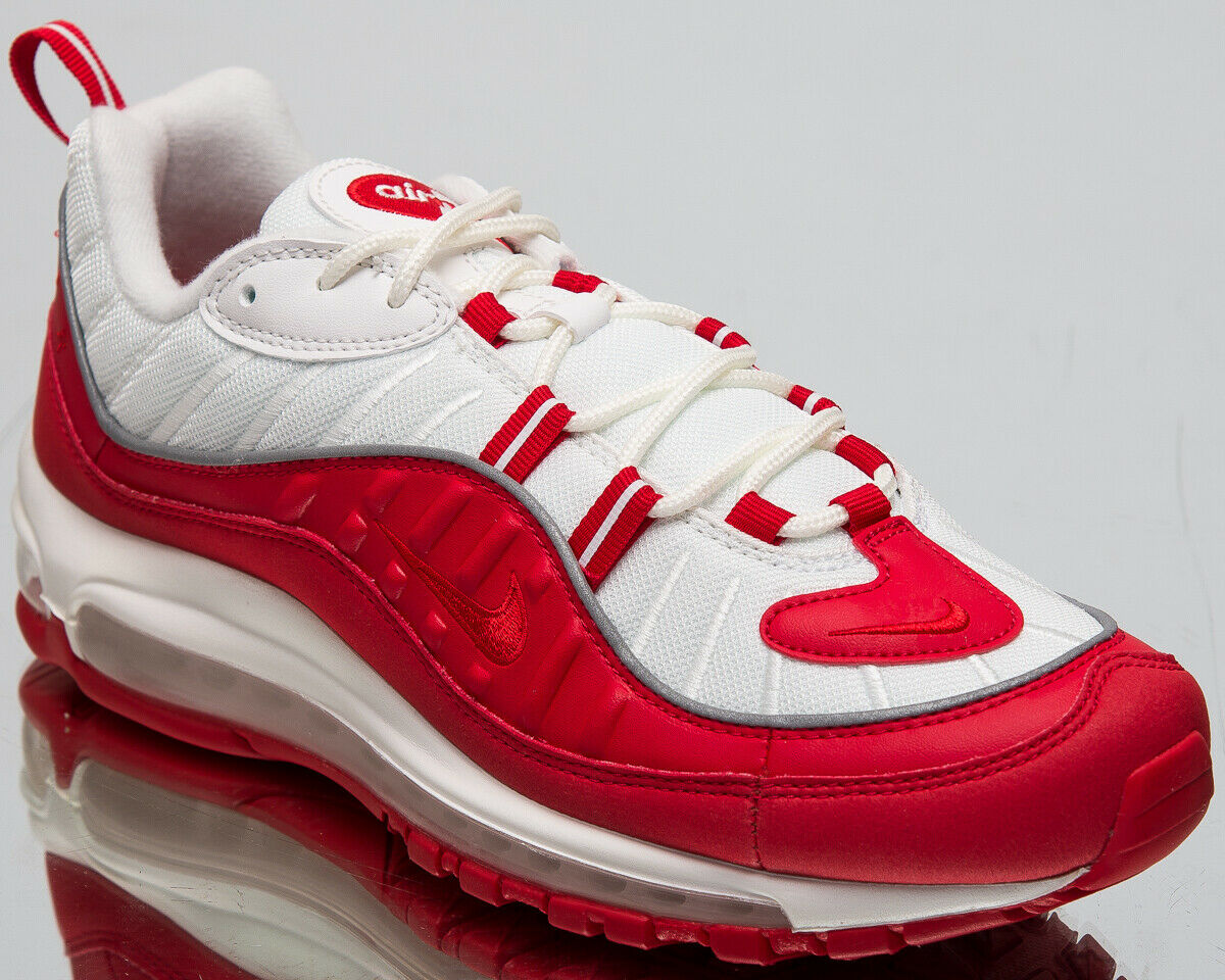1636228414 Nike Air Max 98 University Red Men's New Casual Lifestyle Sneakers  640744-602