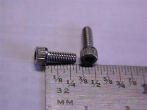 """150 Mil-Spec NAS1352C04-5  4-40 X 5//16/"""" Stainless Steel Socket Head Screws"""