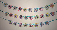 Team Umizoomi Birthday Banner Party Favor Personalized Medium