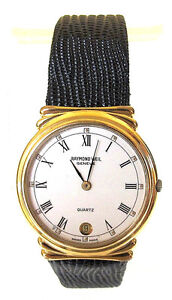 Raymond Weil 18k Gold Plated Classic Watch 5515 Ebay
