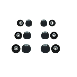 Silicone rubber earphone tips Taotronics replacement earphone tips earbuds 6pr