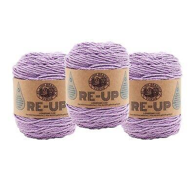 Lion Brand Yarn 522-143 Summer Kiss Yarn Lilac Pack of 3 skeins
