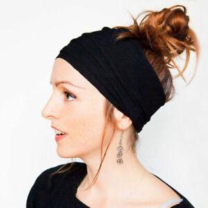 Women-Lady-Wide-Sports-Yoga-Headband-Stretch-Hairband-Elastic-Hair-Band-Turban