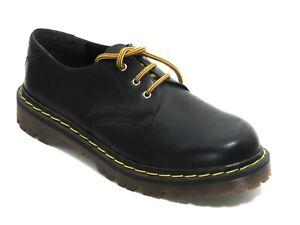 200 Chaussures à Lacets Femme Bottes en Cuir Noir Laçage Basses 40