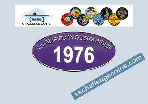 Qualification Years available 1947-2019 Qualified in Submarines Hat Pin