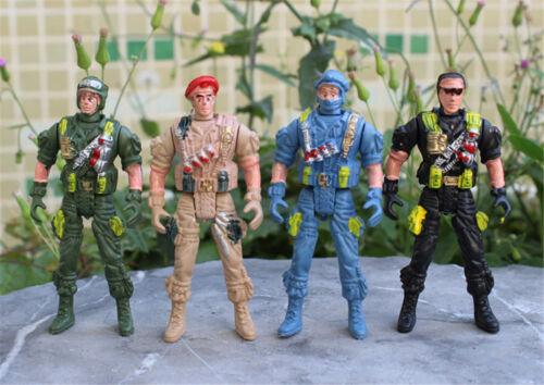 playset Special force Action Figures Kids toys Plastic 9cm Soldier MensJ ER