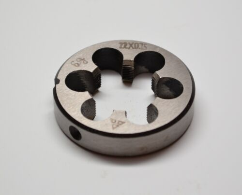 High Quality New 22mm x .75 Metric Right Hand Die M22 x 0.75mm
