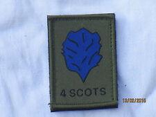 Royal Regiment of Scotland,4 SCOTS, TRF,Patch,  MTP