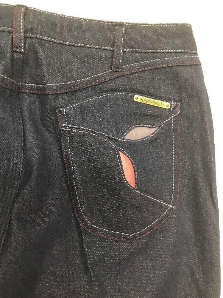 RARE Vintage 70s Jeans Deadstock Wide Leg High Wa… - image 4