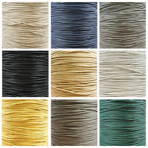 WAXED-COTTON-CORD-1mm-1-5mm-amp-2mm-35-COLOURS-2m-5m-10m-amp-45m-WAX-STRINGING