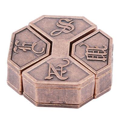 Puzzle 1pcs Solution Metal Alloy
