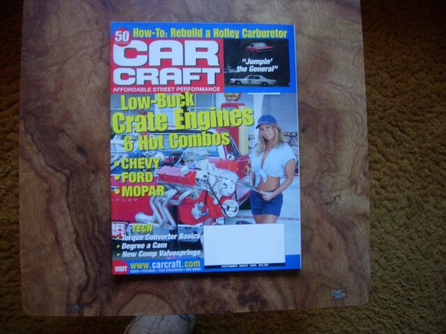 Car Craft Magazine October 2003
