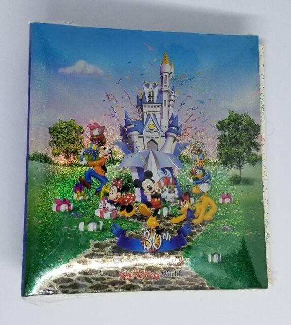 walt disney world 30th anniversary family vacation photo album book shiny cover