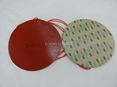 220V OD120MM Round Rubber Silicon Band Metal Oil Drum Heater Electric Heater