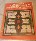Victorian Stained Glass Pattern Book by Ed Sibbett 96 Designs