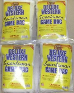 Details about Deluxe Western Sportsmans Game Bags Dickson USA Made 84