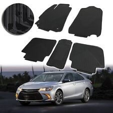 4 Pcs Floor Mats Carpet Nylon Black Fit 2012 2017 Toyota Camry All Weather S7 Fits 2012 Toyota Camry