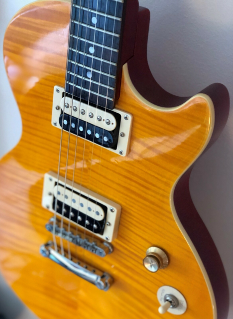 Elguitar, Epiphone Les Paul, Welcome to the jungle!  Ægte…