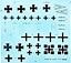 Roden-010-German-airplane-Fokker-DrI-World-War-I-1-72-scale-model-kit-100-mm miniature 10