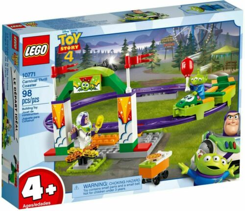 Brand New and Sealed LEGO Toy Story 4 Carnival Thrill Coaster Set 10771