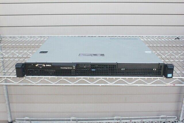 8gb Dell Poweredge R210 Server Xeon x3450 2.66ghz Quad Core Perc 6i