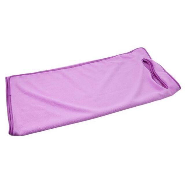IRRIS Women Girl Wearable Bath Towel Wrap Soft Fast Drying Beach Spa Wrap Skirt Bathrobe White