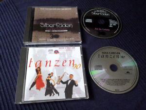 2 CDs Max Greger Tanzen 90 & Silberfäden 1994 Samba Rumba Jive Foxtrott Mambo