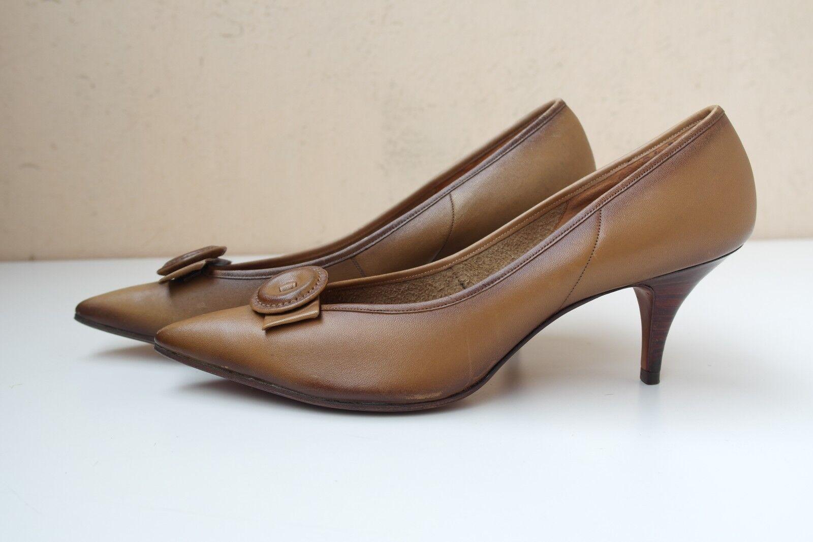 Venta de liquidación de temporada Rheinberger maestro zapatos puena señora pumps zapatos True vintage zapato bajo nos