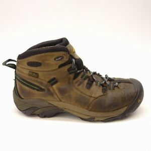 419bd84624 Keen Men's Detroit Mid Steel Toe Utility Waterproof Safety Work ...