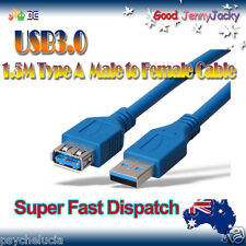 1.5M USB 3.0 Type A Male to Female Extension High Speed Cable Cord
