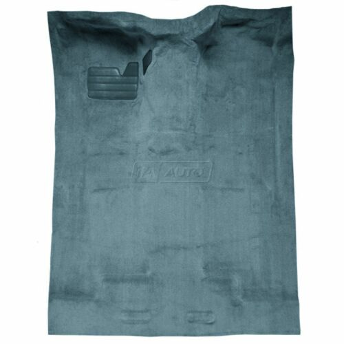for 88-98 GMC C1500 Truck Extended Cab Cutpile 7766-Blue Complete Carpet Molded