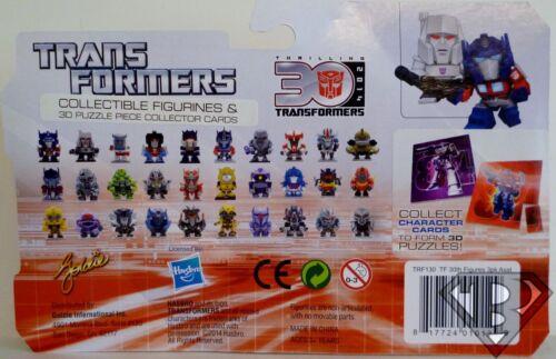 "MEGATRON Transformers 30th Anniversary 1 1//2 /"" inch Mini Figure 3-pack 2014"