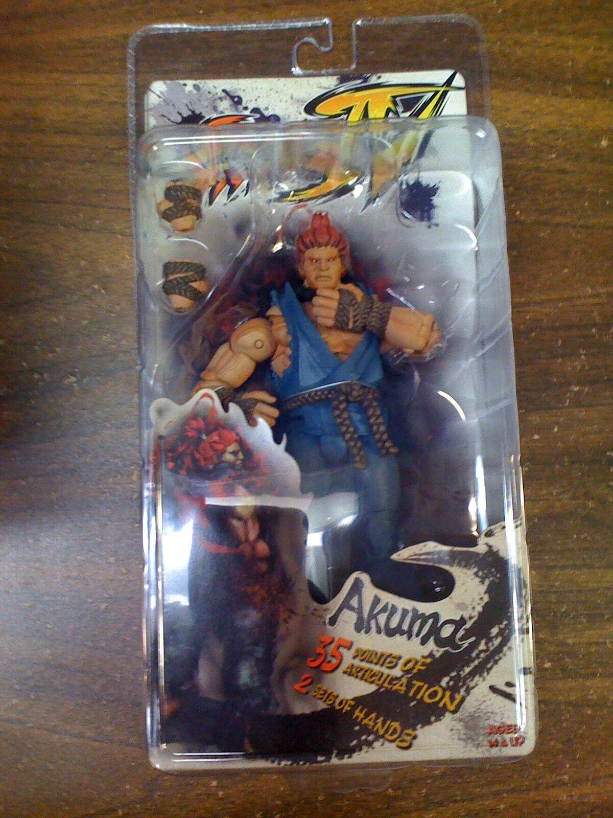 NECA Street Fighter IV  Akuma  Rd 1 Figure NEW
