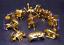 12pcs//set Saint Seiya The Gold Zodiac Action Figure PVC