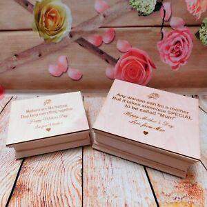 Details About Personalised Wedding Gift Present Birthday Poem Jewellery Box Keepsake Engraved