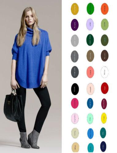 "Women Cotton Spandex Full Length 36/"" Long Inseam Yoga Leggings 32 colors S-5XL"